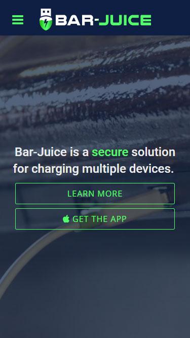 Bar Juice mobile screenshot 1