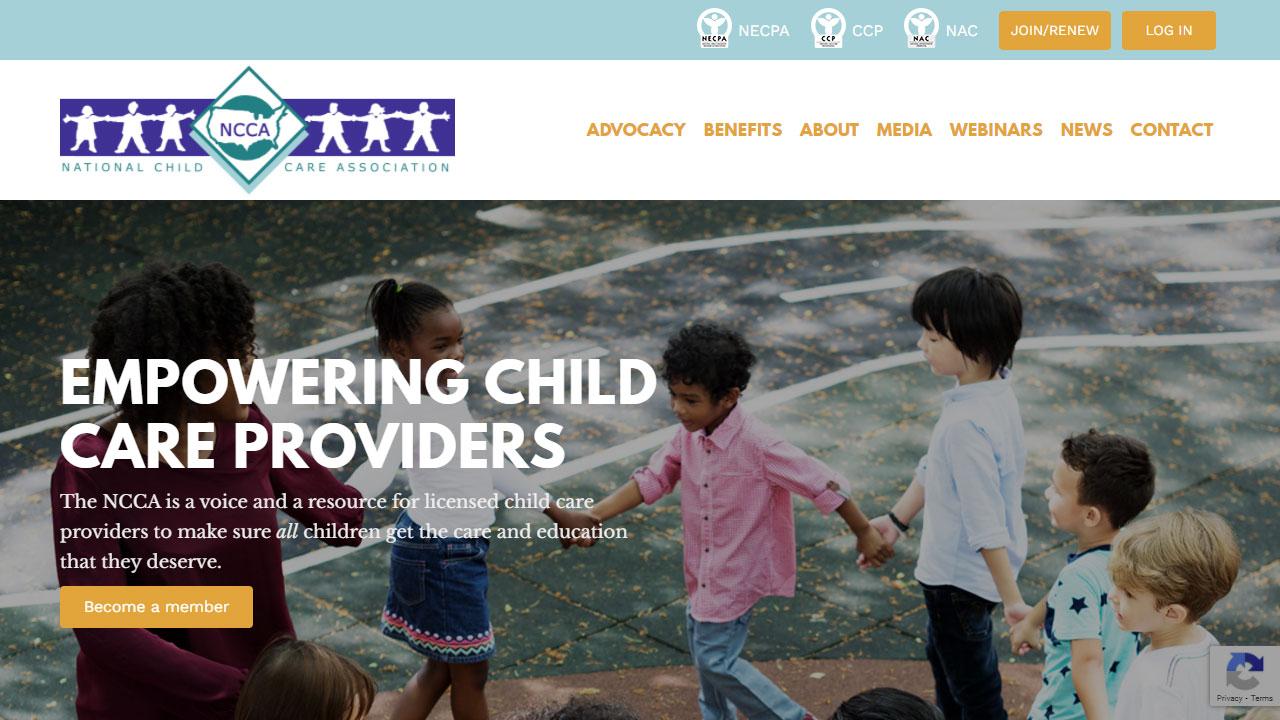 NCCA home page