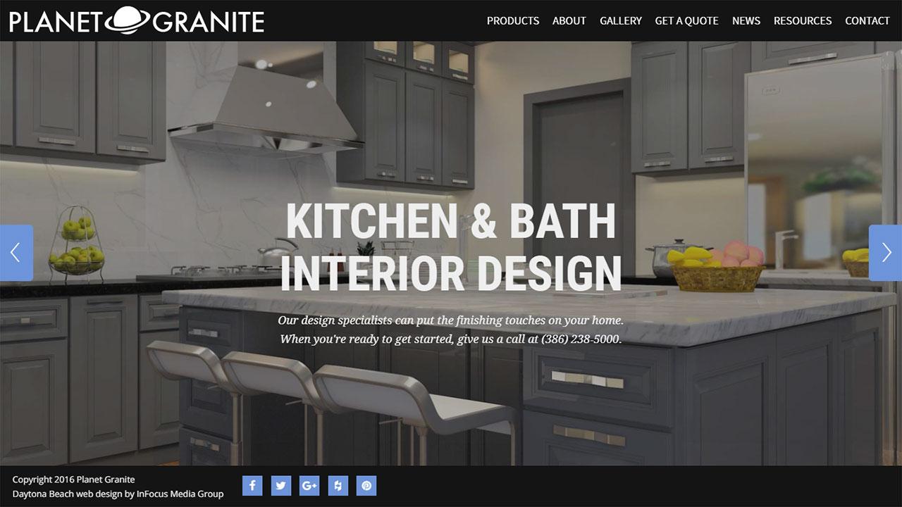 Planet Granite home page