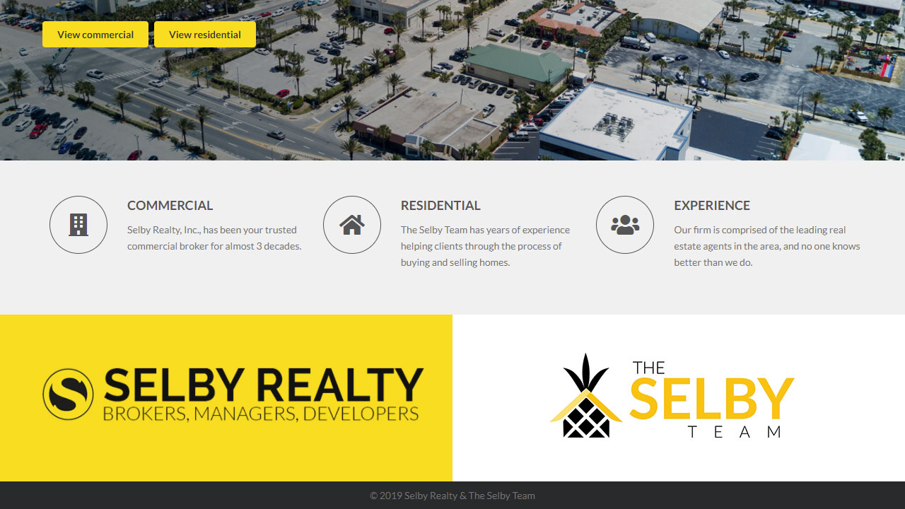 Selby Realty home page 2